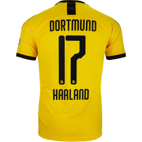 2019/20 Kids PUMA Erling Haaland Borussia Dortmund Home Jersey