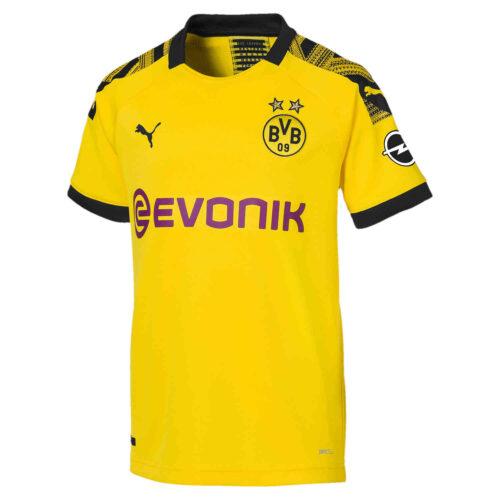 2019/20 Kids PUMA Borussia Dortmund Home Jersey
