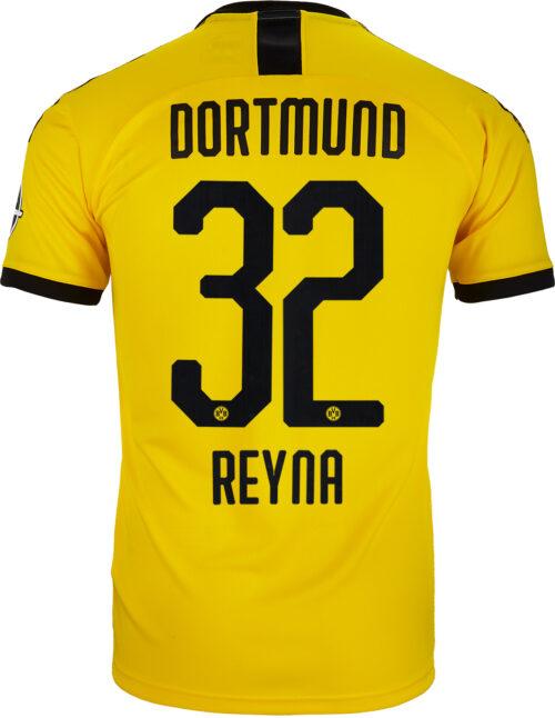 2019/20 Kids PUMA Giovanni Reyna Borussia Dortmund Home Jersey