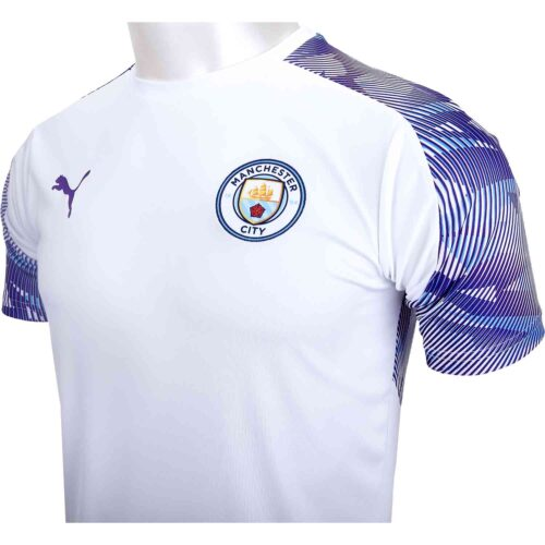 PUMA Manchester City Training Jersey – White/Tillandsia Purple