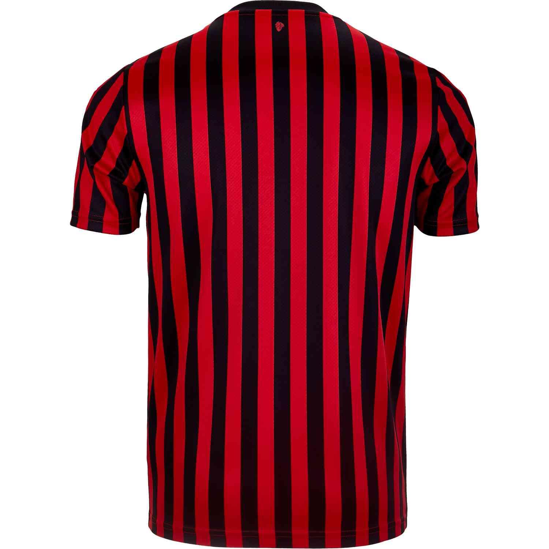 newest 182c0 ea6d1 PUMA AC Milan Home Jersey - 2019/20 - SoccerPro