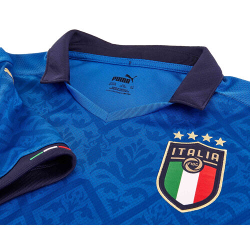 2020 Kids Puma Italy Home Jersey