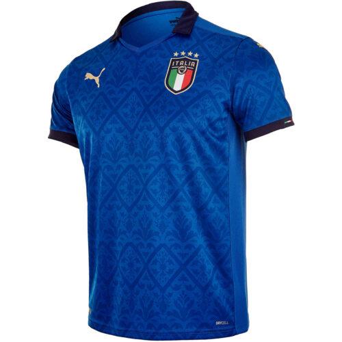 2020 Puma Italy Home Jersey