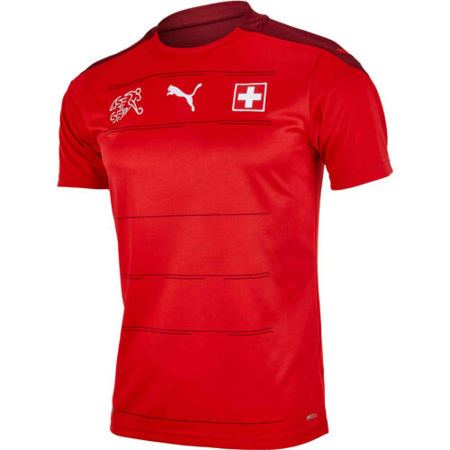 2020 Puma Switzerland Home Jersey