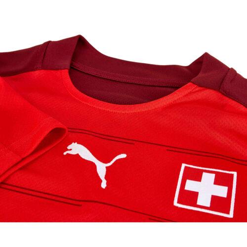 2020 Puma Switzerland Home Jersey
