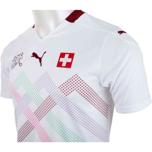 2020 Puma Switzerland Away Jersey