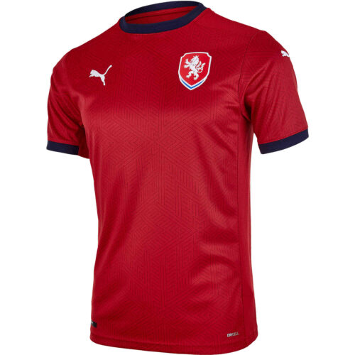 2020 Puma Czech Republic Home Jersey