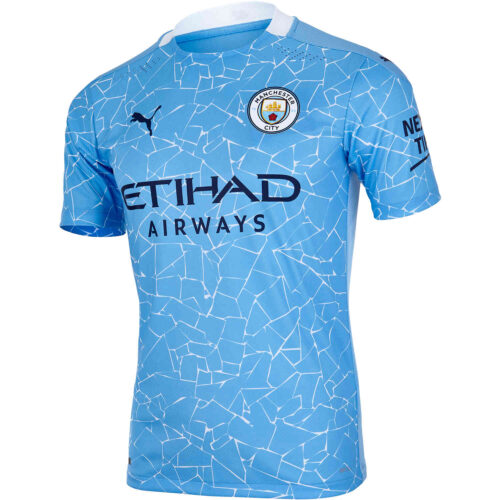 2020/21 PUMA Manchester City Home Authentic Jersey