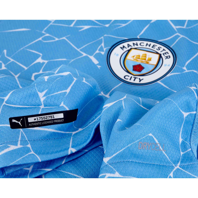 2020/21 Bernardo Silva Manchester City Home Authentic Jersey ...