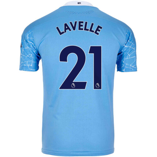 2020/21 PUMA Rose Lavelle Manchester City Home Authentic Jersey