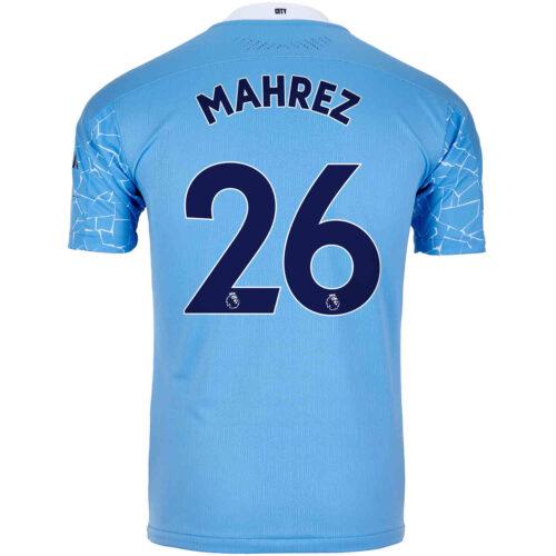 2020/21 Riyad Mahrez Manchester City Home Authentic Jersey