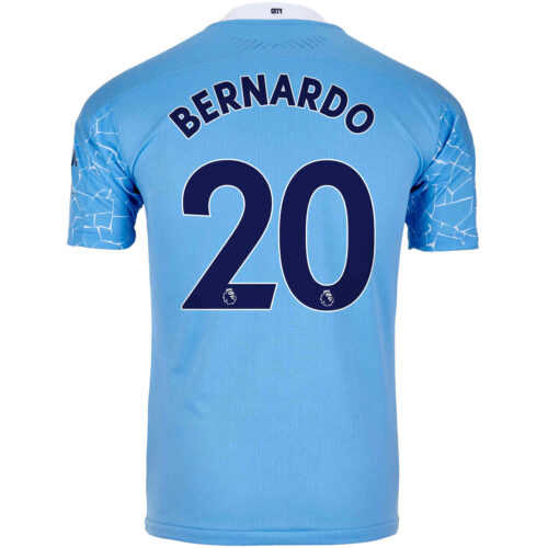 2020/21 Bernardo Silva Manchester City Home Authentic Jersey