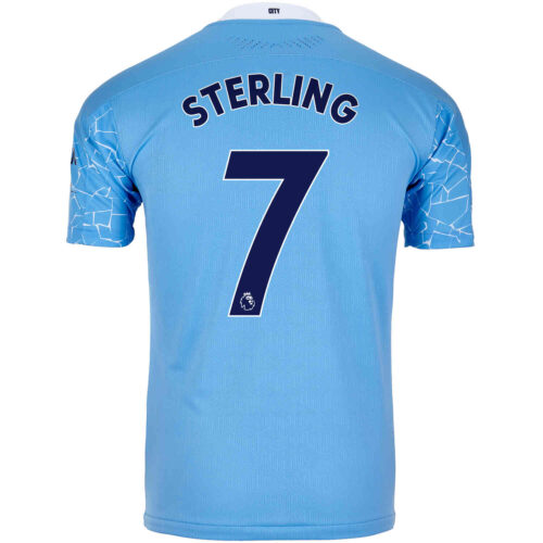 2020/21 Raheem Sterling Manchester City Home Authentic Jersey