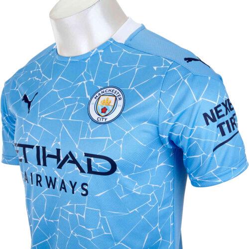 2020/21 Kids PUMA Manchester City Home Jersey