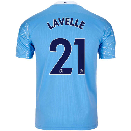 2020/21 Kids PUMA Rose Lavelle Manchester City Home Jersey