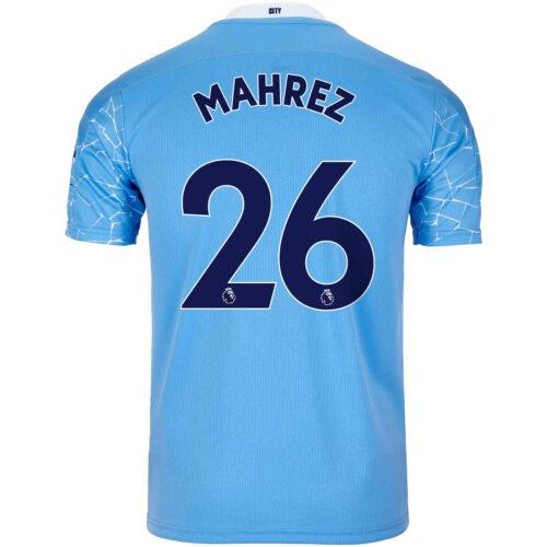 2020/21 Kids Riyad Mahrez Manchester City Home Jersey