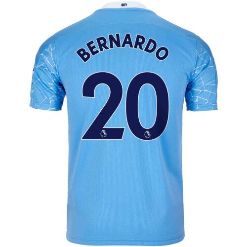 2020/21 Kids Bernardo Silva Manchester City Home Jersey
