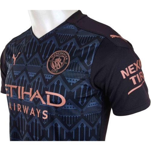 2020/21 Kids PUMA Ferran Torres Manchester City Away Jersey