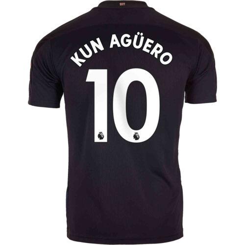 2020/21 Kids PUMA Sergio Aguero Manchester City Away Jersey