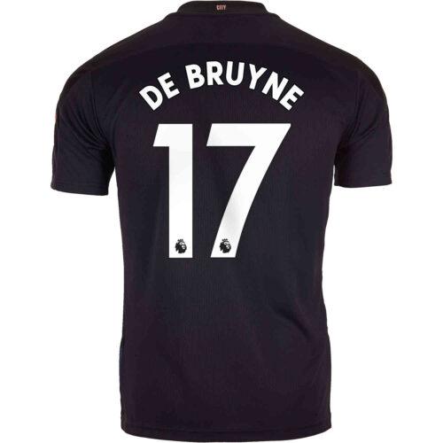 2020/21 Kids PUMA Kevin De Bruyne Manchester City Away Jersey