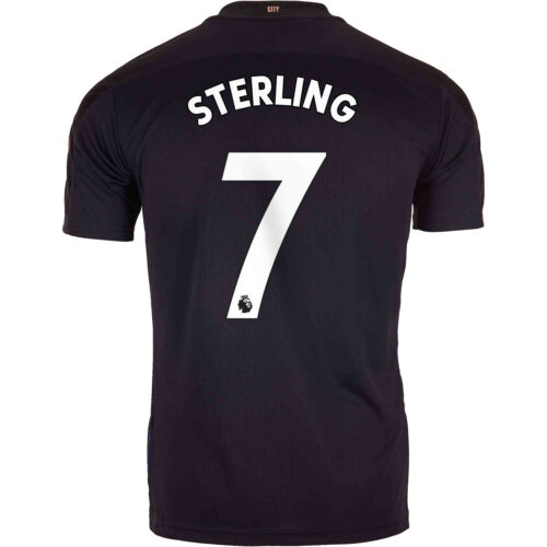 2020/21 Kids PUMA Raheem Sterling Manchester City Away Jersey