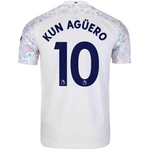2020/21 PUMA Sergio Aguero Manchester City 3rd Jersey