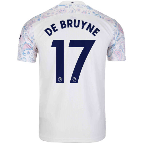 2020/21 PUMA Kevin De Bruyne Manchester City 3rd Jersey