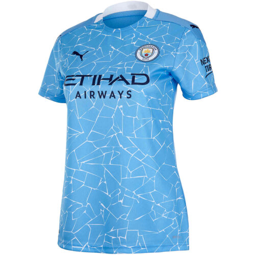 2020/21 Womens PUMA Manchester City Home Jersey