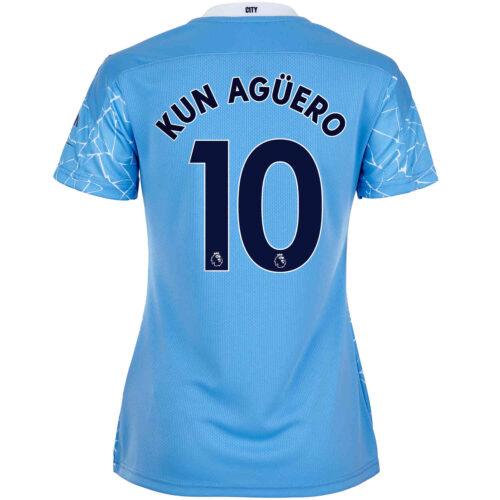 2020/21 Womens Sergio Aguero Manchester City Home Jersey