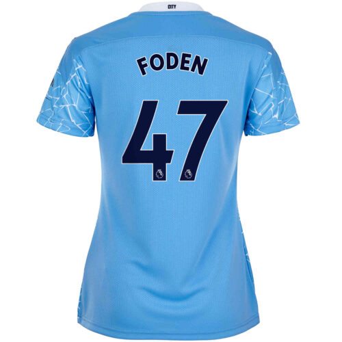 2020/21 Womens Phil Foden Manchester City Home Jersey