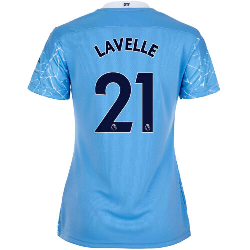 2020/21 Womens PUMA Rose Lavelle Manchester City Home Jersey