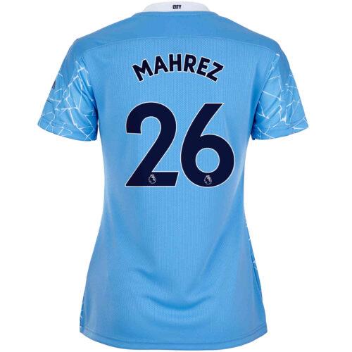 2020/21 Womens Riyad Mahrez Manchester City Home Jersey