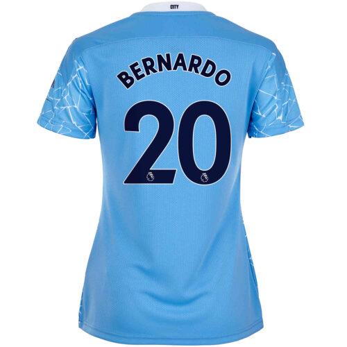 2020/21 Womens Bernardo Silva Manchester City Home Jersey