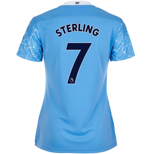 2020/21 Womens Raheem Sterling Manchester City Home Jersey