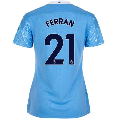 2020/21 Womens PUMA Ferran Torres Manchester City Home Jersey