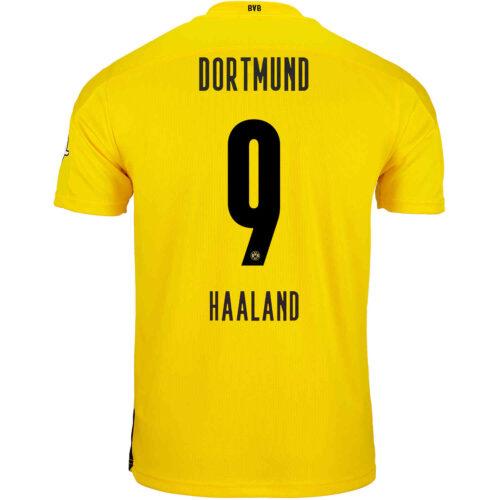 2020/21 PUMA Erling Braut Haaland Borussia Dortmund Home Jersey
