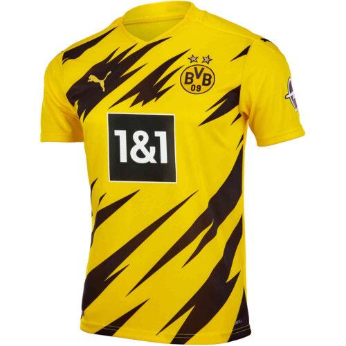 2020/21 Kids PUMA Borussia Dortmund Home Jersey