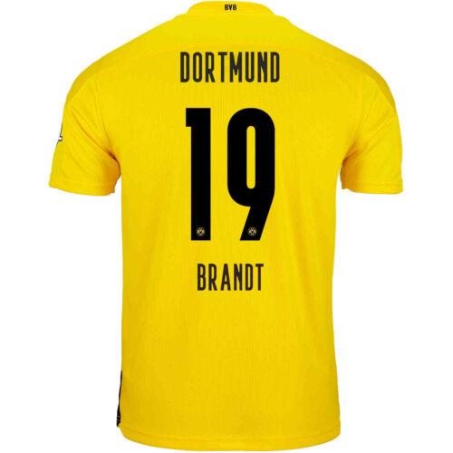 2020/21 Kids PUMA Julian Brandt Borussia Dortmund Home Jersey