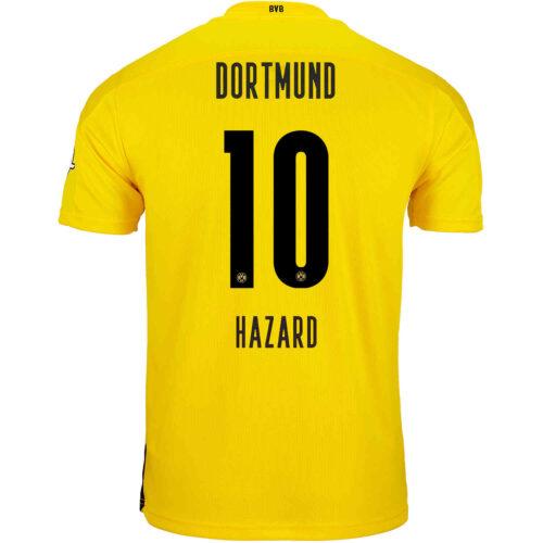 2020/21 Kids PUMA Thorgan Hazard Borussia Dortmund Home Jersey
