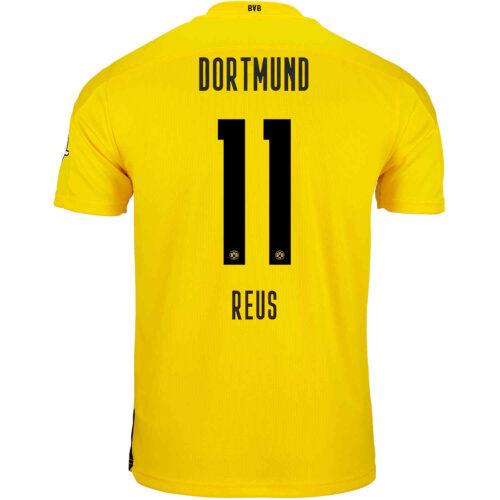 2020/21 Kids PUMA Marco Reus Borussia Dortmund Home Jersey