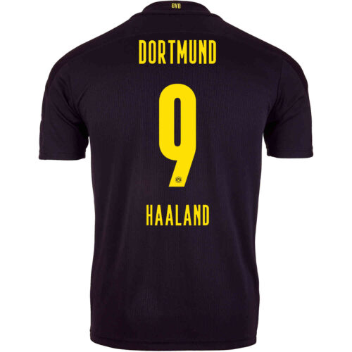 2020/21 PUMA Erling Braut Haaland Borussia Dortmund Away Jersey