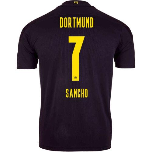 2020/21 PUMA Jadon Sancho Borussia Dortmund Away Jersey