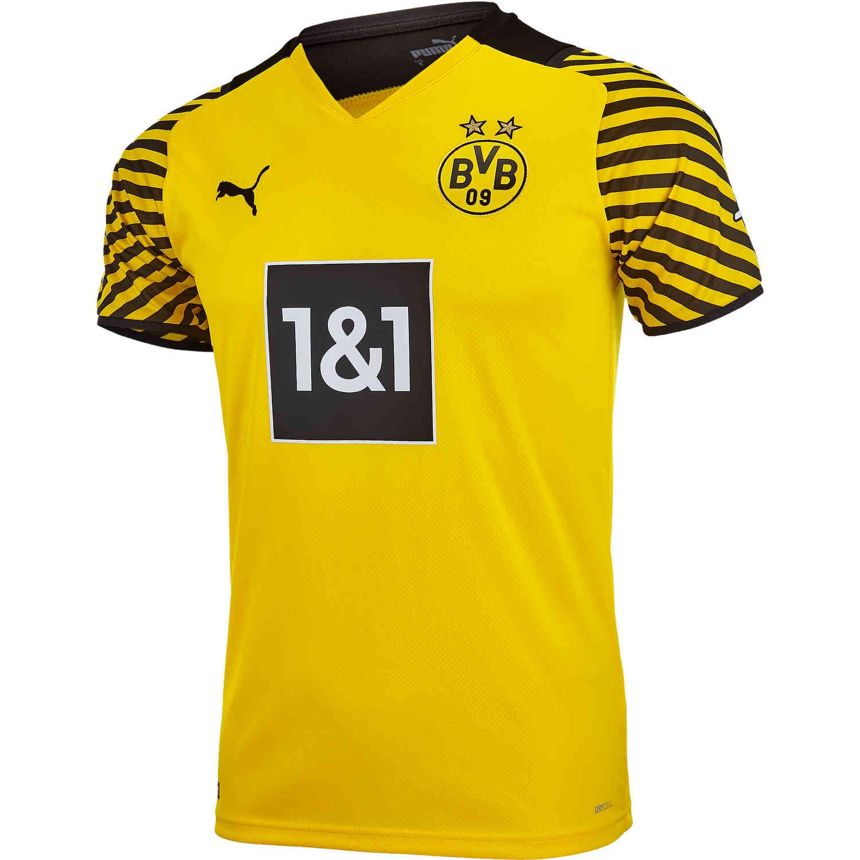 2021/22 PUMA Borussia Dortmund Home Jersey - SoccerPro