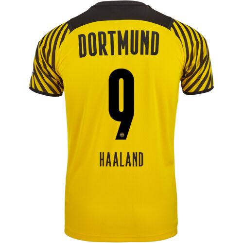 2021/22 PUMA Erling Haaland Borussia Dortmund Home Jersey