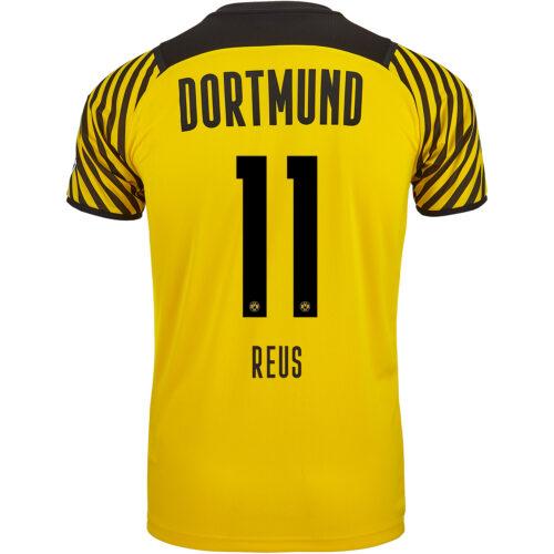 2021/22 PUMA Marco Reus Borussia Dortmund Home Jersey