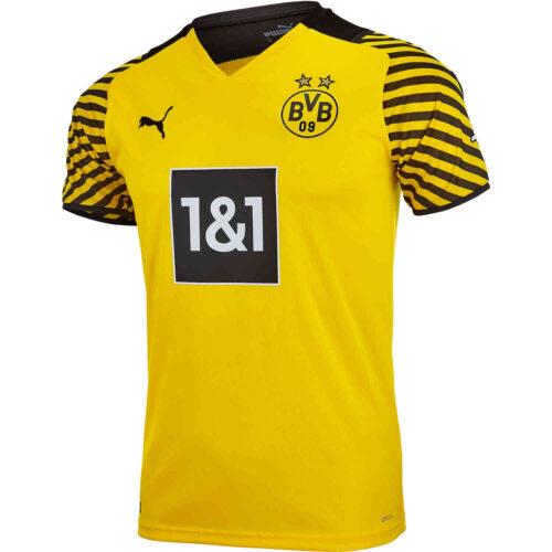 2021/22 Kids PUMA Borussia Dortmund Home Jersey
