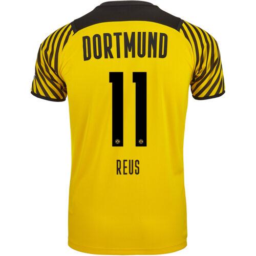 2021/22 Kids PUMA Marco Reus Borussia Dortmund Home Jersey