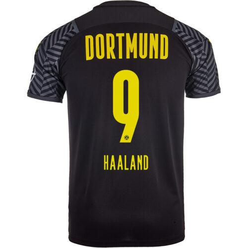 2021/22 PUMA Erling Haaland Borussia Dortmund Away Jersey