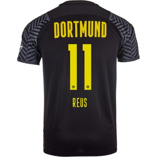 2021/22 PUMA Marco Reus Borussia Dortmund Away Jersey