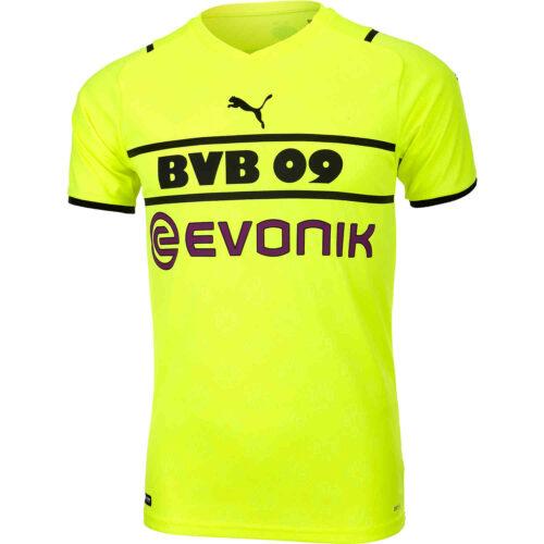 2021/22 Kids PUMA Borussia Dortmund Cup Jersey